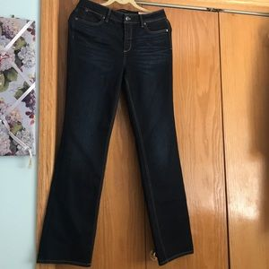 Talbots size 8 flawless 5 pocket bootcut NWT